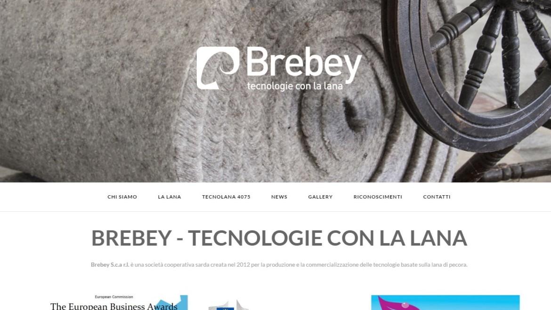 Brebey rinnova il sito web
