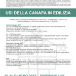 La canapa, workshop a Guspini
