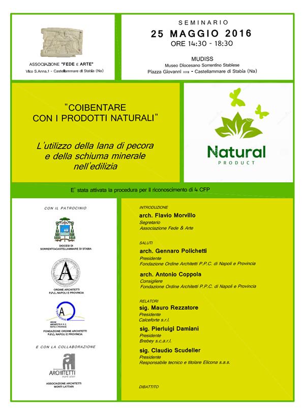 """Brebey presente al seminario """"Coibentare con i prodotti naturali"""""""