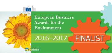 "Brebey partecipa al premio internazionale ""European Business Awards for the Environment""."