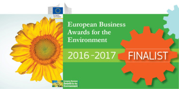 "Brebey finalista allo ""European Business Award for the Environment"""
