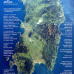 Abitare Mediterraneo Programma e cartina Sardegna