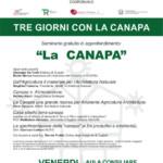 La canapa, seminario a Guspini