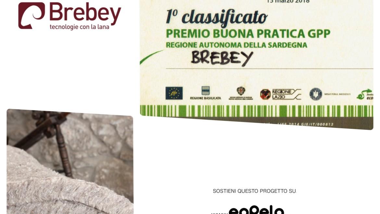 Brebey e il premio al GPP